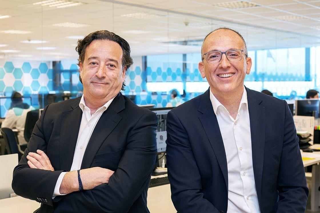 Andreu Antonell y David Ral en Dara Pharmaceutical Packaging