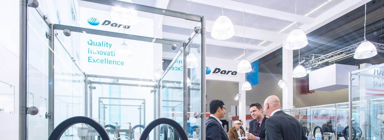 Dara Team en el Stand de CPhI Worldwide Frankfurt 2019