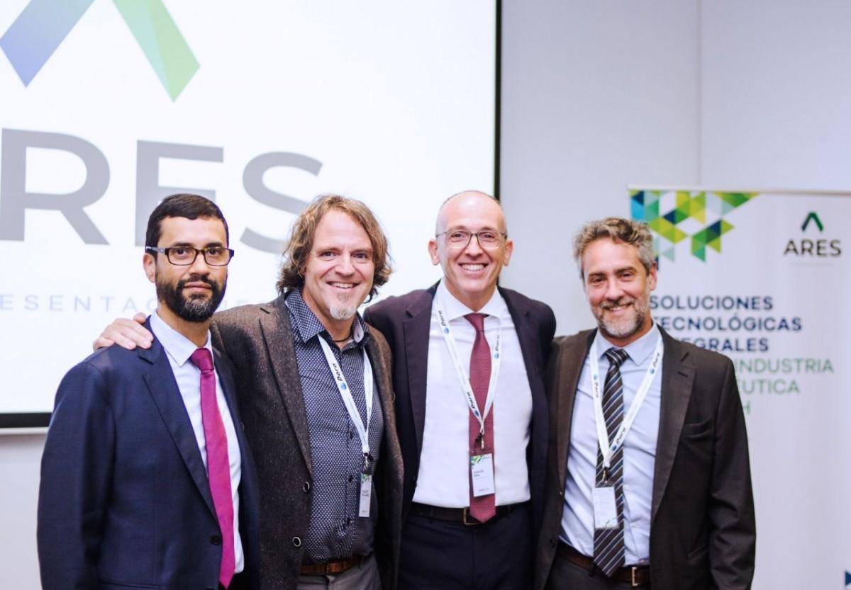 Álvaro Yepes (Vestilab), Valentí Sellarés (Airplan), David Ral (Dara Pharma), Guillermo Sorci (Högner).