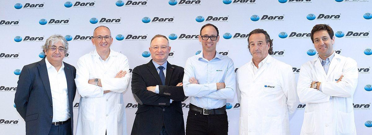 Equipo directivo Dara-Pharma y CoolVacuum