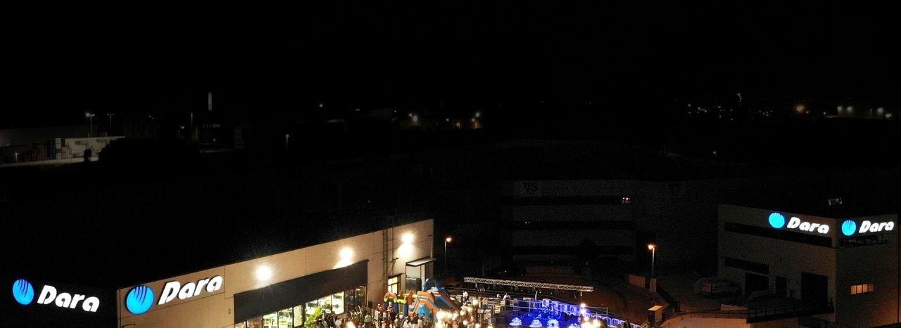 Aerial view of Dara Pharma in Granollers