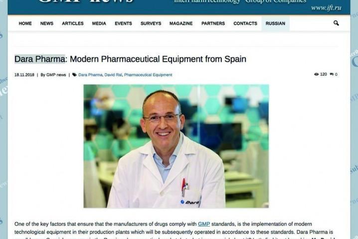 Dara Pharma in GMP news