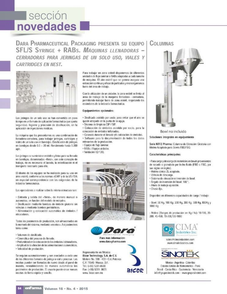 Filling and closing pharmaceutical Equipment