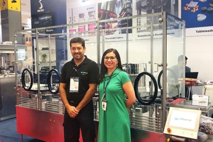 Dara Pharma team at EXPO PACK Guadalajara