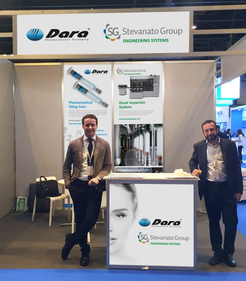 Alfred Terés & Alessandro Petenuzzo representing Dara Pharma and Optreltrel