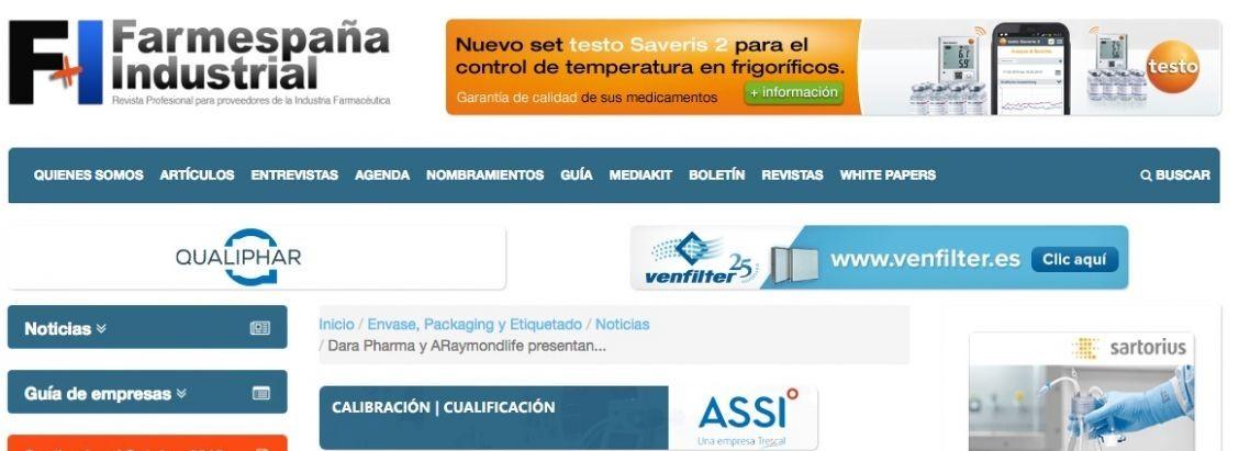 Dara Pharma and ARaymondlife in Madrid