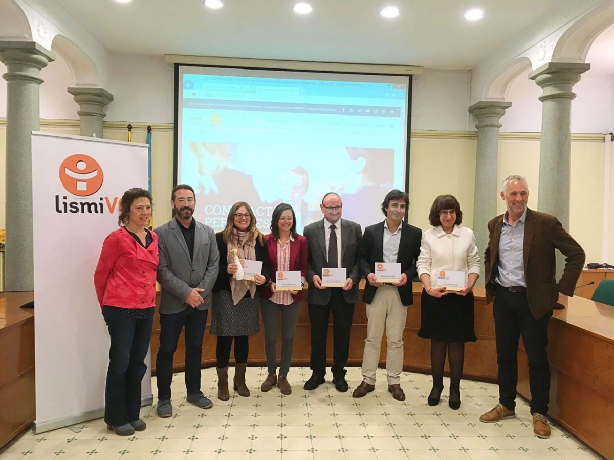 Acto de entrega de los premios lismiVO