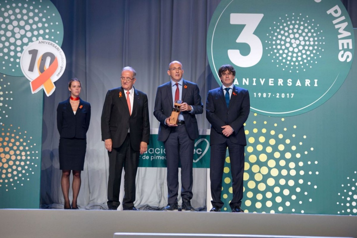 Roberto Calvo, Montse Corderas (Communication Responsible), Oscar Ral, Belén Fernández (Economic Manager) and David Ral