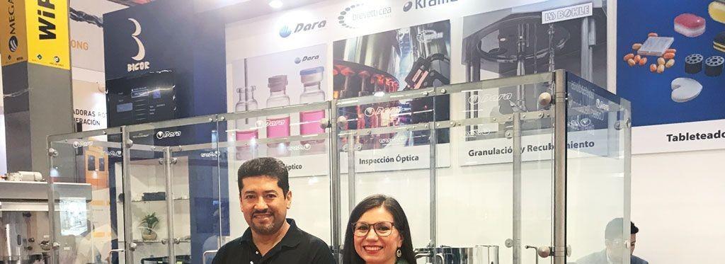 El equipo de Dara Pharma en EXPO PACK Guadalajara