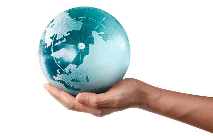 World hand